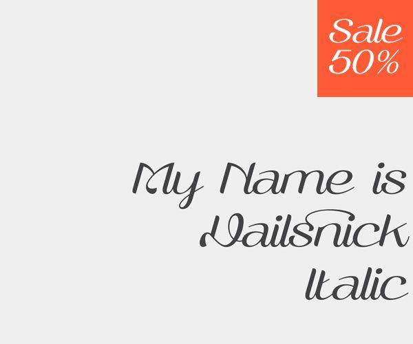 Rapsick   Vailsnick Italic Font by M Fairuzulhaq, via Behance