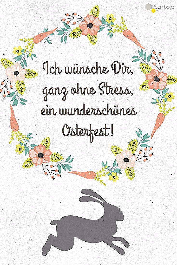 Ostern Spruche Grusse Diesen Und 20 Weitere Schone Ostergrusse Findet Ihr Auf Roombeez In 2020 Easter Humor Easter Greetings Easter Wishes