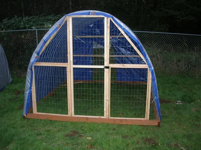 Hoop Coop The Perfect Chicken Coop Cheap To Build With