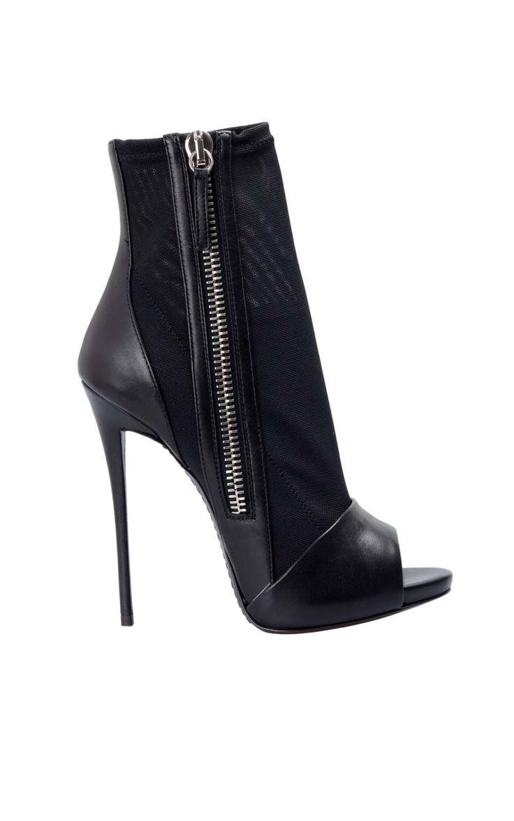 #GiuseppeZanotti Open toe ankle boots, discover them here -> http://www.bagheeraboutique.com/en-US/designer/giuseppe_zanotti