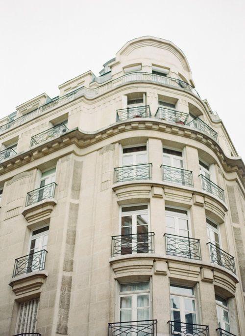 Parisian building. Photography by Heidi Lau.
