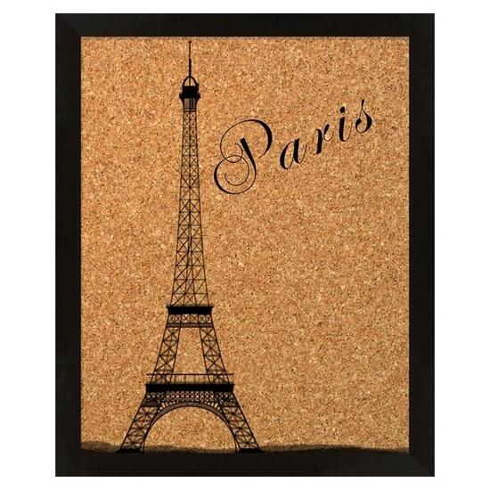 Awesome Paris Framed Cork Bulletin Board #paris #framed #cork #bulletin #board #eiffel_tower