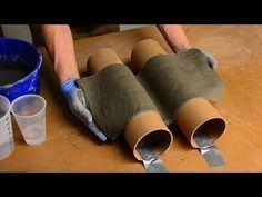 Beton gießen - DIY - Romantische Trittplatten, zauberhafte Wasserschalen und fröhliche Windlichter - YouTube