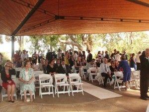 Ceremony: wildflower-pavilion