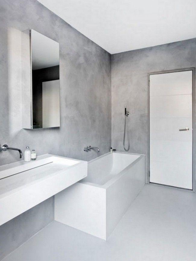 Modern + Grey Bathroom