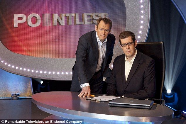 Alexander Armstrong (left) and Richard Osman, who present the game show Pointless