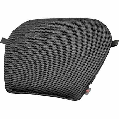 Pro Pad Diamond Mesh Large Gel Motorcyle Seat Pad. Micro spacer fabric provides a neutral seating surface. Polymer insert reduces pressure on sensitive areas. Cutouts in polymer insert reduce pressure on sensitive areas. Allows air flow under rider reducing sweating in warmer temperatures. Non-slip bottom.