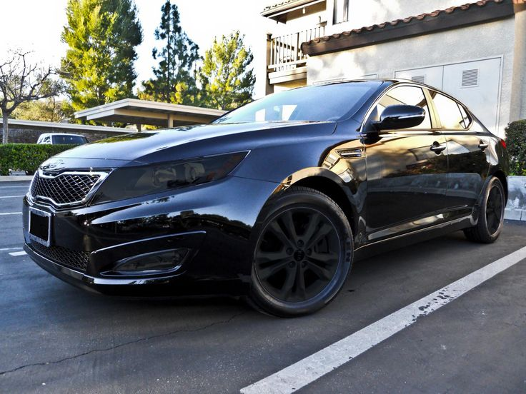 Kia Optima, Murdered out! oh my it doesn't get better than that!