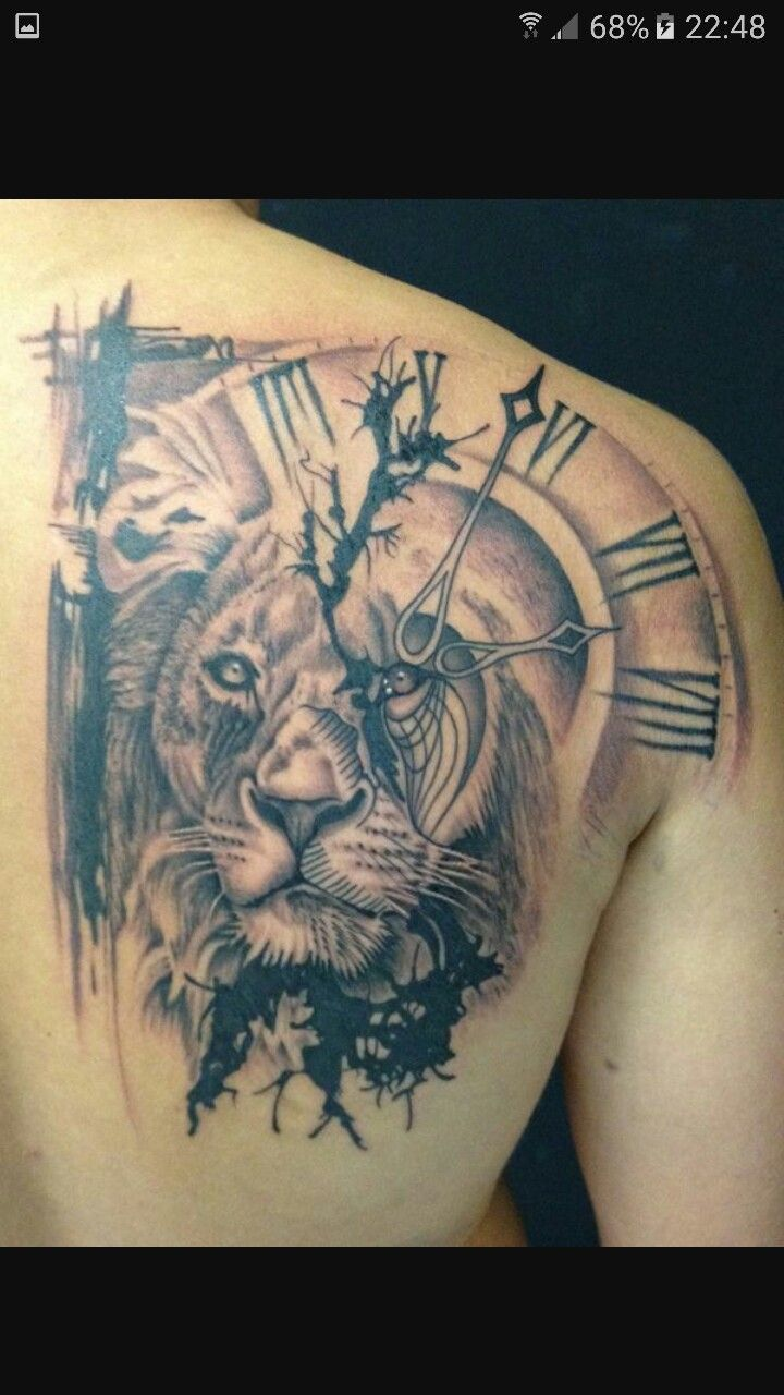 150 realistic lion tattoos and meanings 2017 collection - 23b9aca76eea498f288b752e3b929130 Jpg