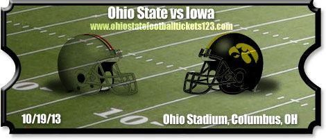 iowa hawkeyes ohio state images | Ohio State Buckeyes Football Tickets | 2013 | Season