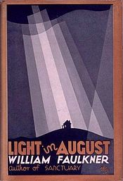 Light in August is a 1932 novel by the American author William Faulkner.  Set in Mississippi sixty-seven years after the American Civil War ended race-based slavery and twelve years after the 19th Amendment to the United States Constitution entitled American women to vote, this novel by William Faulkner shows how racism and misogyny can persist; but its exploration of human prejudices goes well beyond those two.