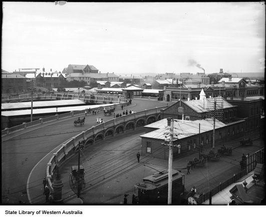 The Horseshoe Bridge, Perth, 1905 (?)