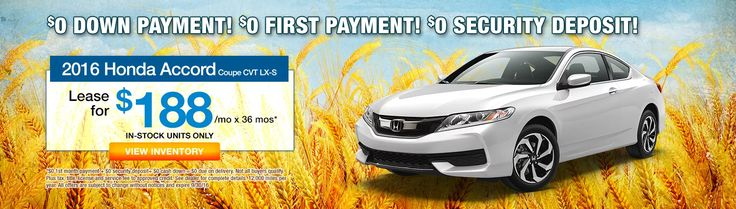 Don't miss this Russ Darrow Honda special on the 2016 Accord