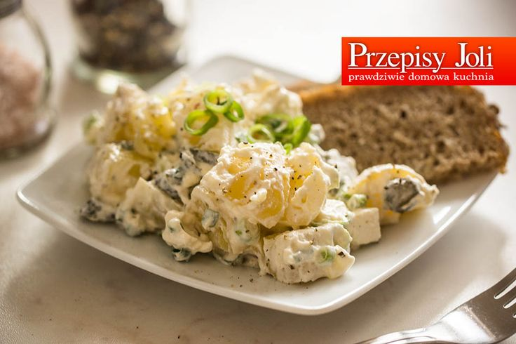 SAŁATKA ZIEMNIACZANA KARTOFFELSALAT - najlepsza sałatka z ziemniakami i pieprzem. Sałatka wyrazista w smaku, idealny dodatek do mięsa.