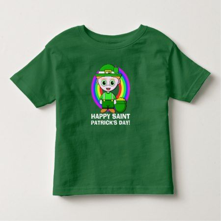 Happy Saint Patrick's Day Toddler T-shirt - click to get yours right now!