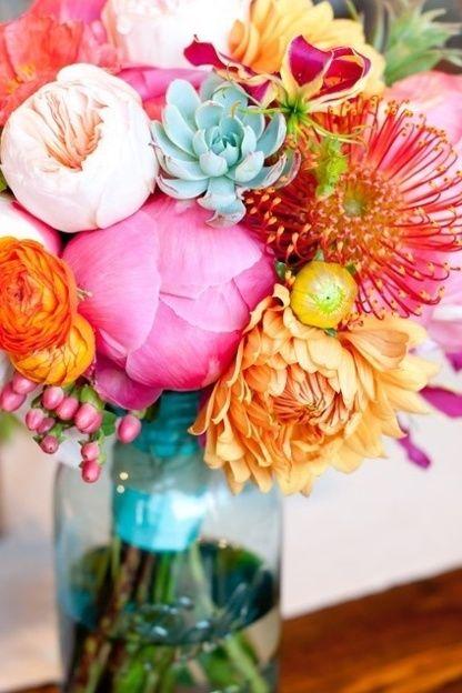 Summer Wedding | Seasonal Wedding Flowers | Wedding Carousel