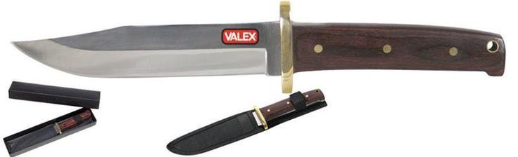 Amanti dell'#outdoor e dell'#escursionismo? #coltellocorsaro #valex solo su https://agrihobby.com/ Lama fissa in acciaio - Manico in legno - Fornito di fodero da cintura. lama mm 140. lunghezza mm 255.