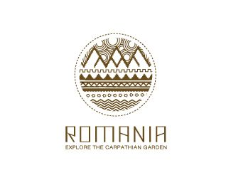Romania Logo Design | More logos http://blog.logoswish.com/category/logo-inspiration-gallery/ #logo #design #inspiration