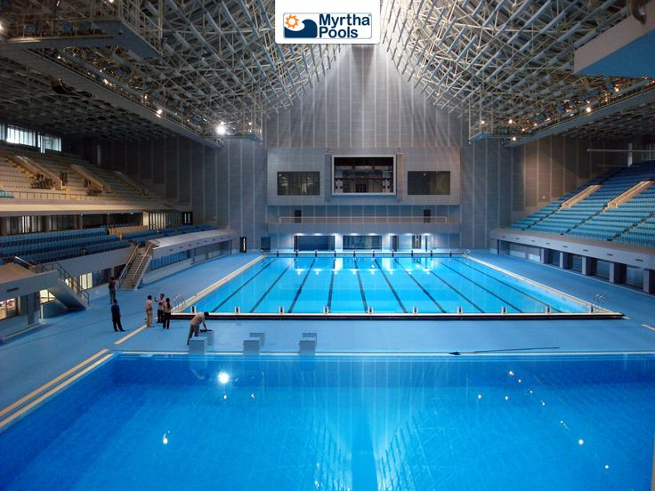 Pool For Competition Swimming Pool Architecture Leisure