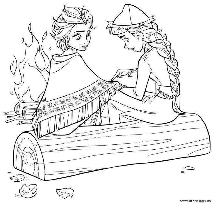 Print Elsa And Honeymaren Coloring Pages Disney Princess Coloring Pages Frozen Coloring Pages Frozen Coloring