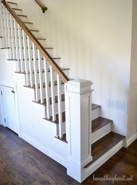 how to build a newel post