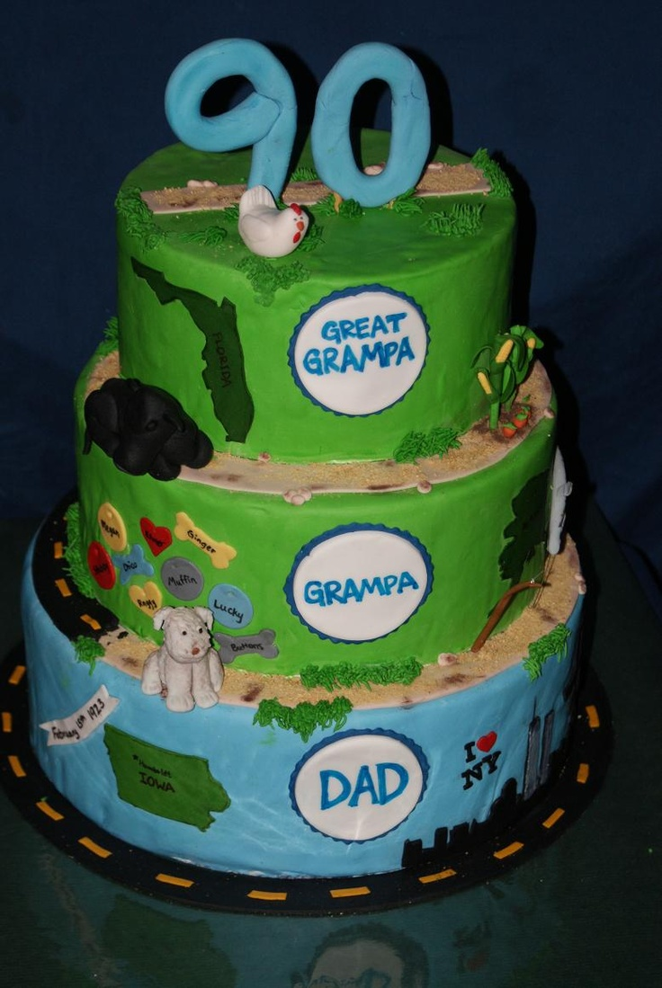 15 best grandpas 90th birthday ideas images on Pinterest 90th