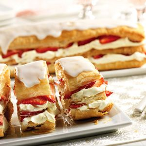 Pepperidge Farm® Puff Pastry - Recipe Detail - Strawberry Napoleons