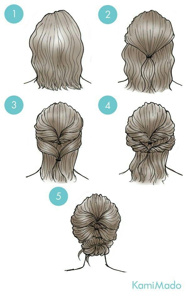 25 beautiful short hair updo ideas on pinterest upstyles for 50 penteados para fazer sozinha e arrasar updo for short hairshort bob pmusecretfo Gallery
