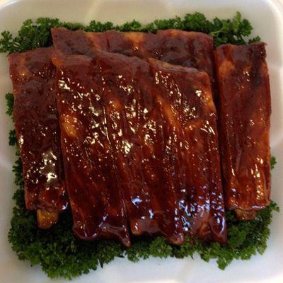 DO NOT MISS PINNING THIS!  Bam Bam's BBQ Competition Spare Rib Recipe!  Soooooo good!