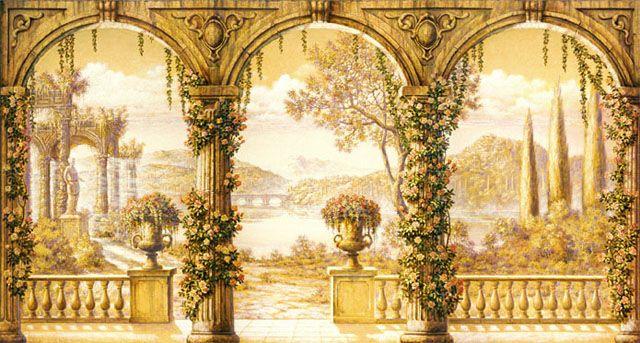 Classic Murals - Wall Trompe L'oeil Murals