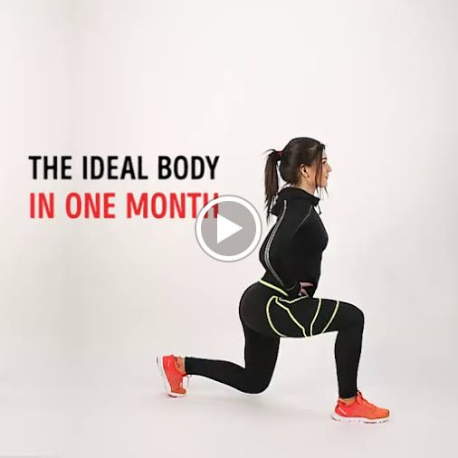 The ideal body in one month!! Video Credit: Bright Side  iLiveFit LIVEFIT! JOINTHEFITREVOLUTION!