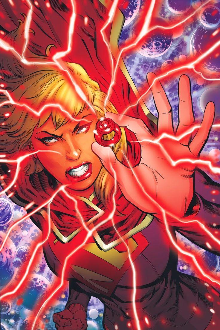 Red Daughter of Krypton, Supergirl Red Lantern
