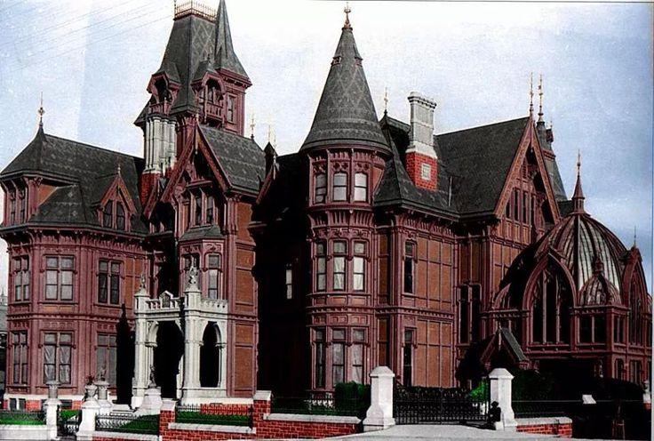 Hopkins Mansion in San Francisco
