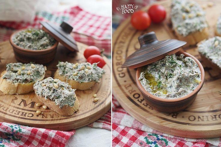 Грибной паштет с творогом и зеленью (Готовлю с техникой Gorenie) - HAPPYFOOD