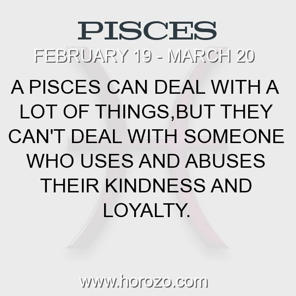 Fact about Pisces: A Pisces can deal with a lot of things,but they can't... #pisces, #piscesfact, #zodiac. Pisces, Join To Our Site https://www.horozo.com  You will find there Tarot Reading, Personality Test, Horoscope, Zodiac Facts And More. You can also chat with other members and play questions game. Try Now!