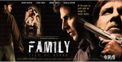 Family: Ties Of Blood | Amitabh Bachchan Full Movies | Watch Online Npw Stars: Amitabh Bachchan, Akshay Kumar, Bhoomika Chawla  Slacker Aryan Bhatia's life is turned upside down when his brother, Shekhar, is killed by a hoodlum, Virendra Sahi. Unable to get the corrupt Mumbai police to apprehend him, he decides to abduct the entire Sahi family, hold them hostage until Virendra surrenders to him. He and six of his friends obtain firearms,