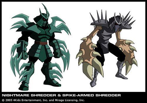 https://flic.kr/p/55Cb1z | Nightmare Shredder & Spiked-Armed or 'Claw Shredder' { Shredder Clone } [[ Courtesy 4kids TMNT Blog ]] |  -->> **Via 4kids TMNT Blog .. (( select 4KIDS TV images in conjunction with my news updates @ Mikey's TMNT)) !!    ♥ ♥    .. >v<