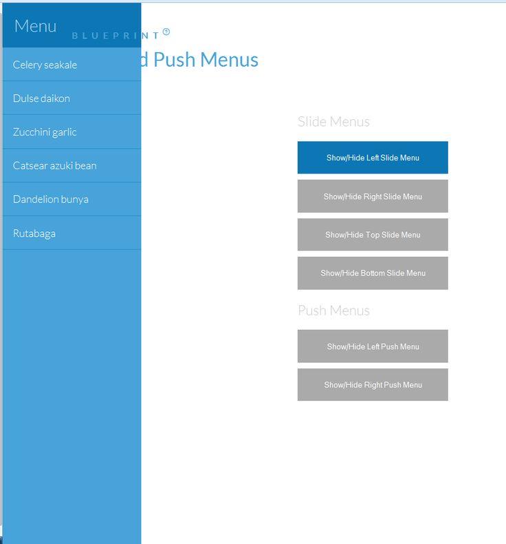 80 best Jquery images on Pinterest Coding, Design websites and - best of blueprint css menu