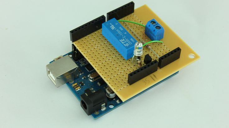 442 best arduino raspberry pi images on pinterest electronics how to make custom shields for your microcontroller board fandeluxe Images