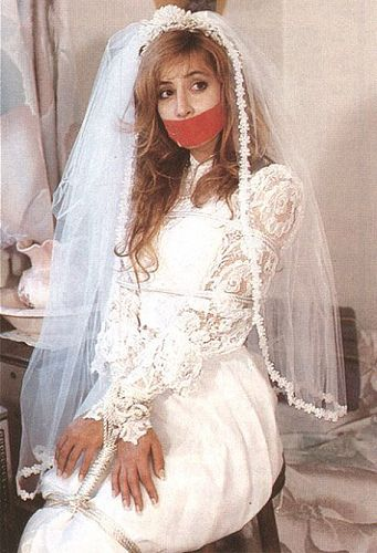Seventies Bondage Bride - the perfect wedding day