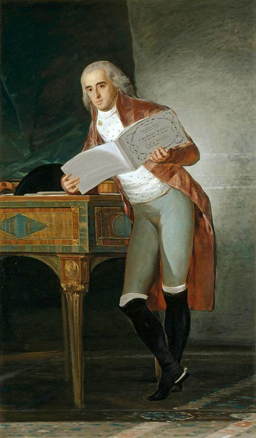 Portrait of José Álvarez de Toledo, Duke of Alba, 1795 - Francisco Goya (Spanish, 1746-1828)