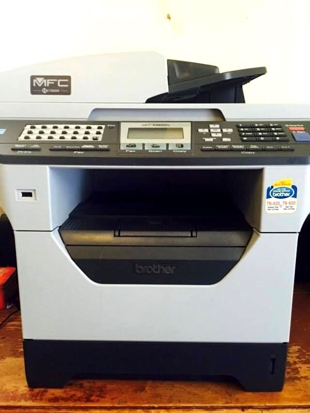 Brother MFC-8480DN All-In-One Laser Duplex Printer Copier Scanner Fax Ethernet #Brother