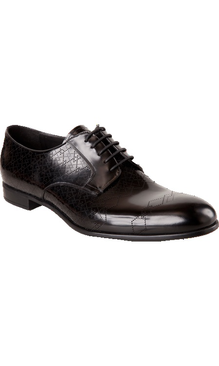 Prada Perforated Pattern Blucher $695