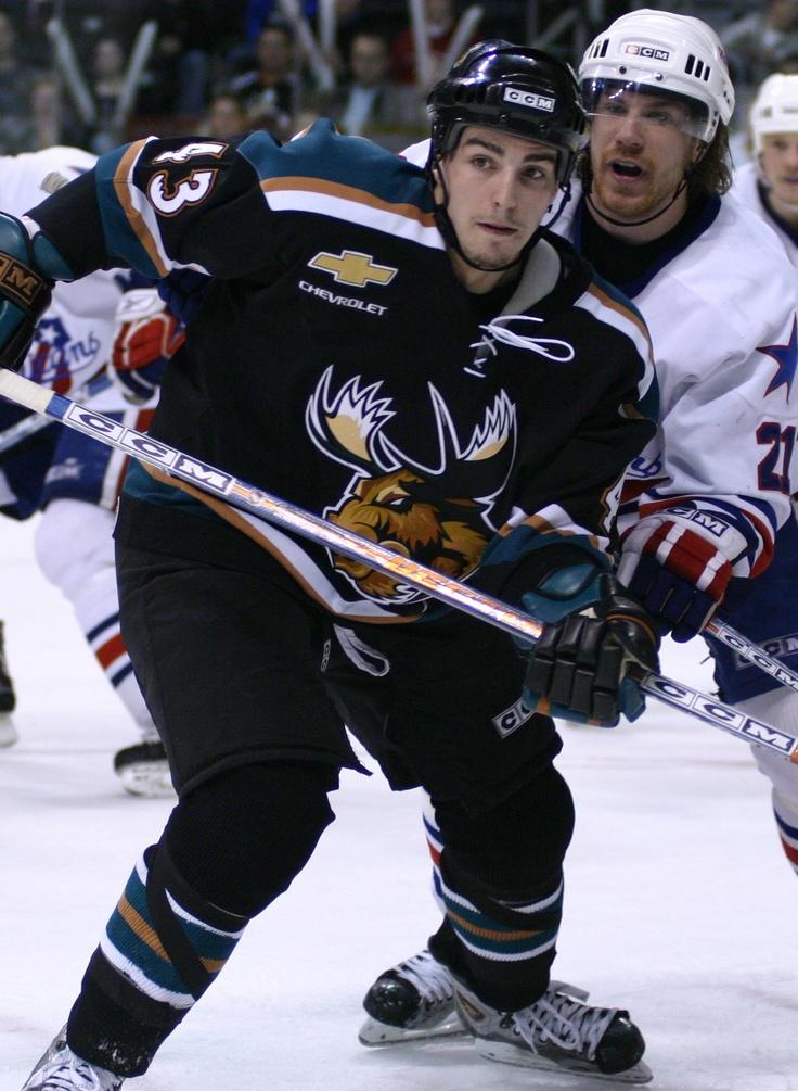 Alex Burrows, Manitoba Moose