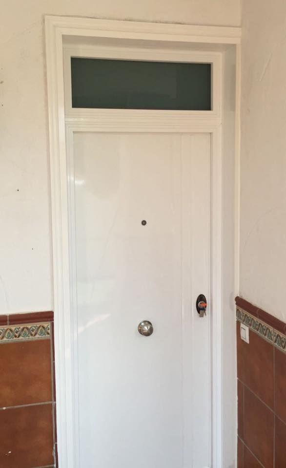 M s de 25 ideas fant sticas sobre puertas acorazadas en - Puertas acristaladas exterior ...