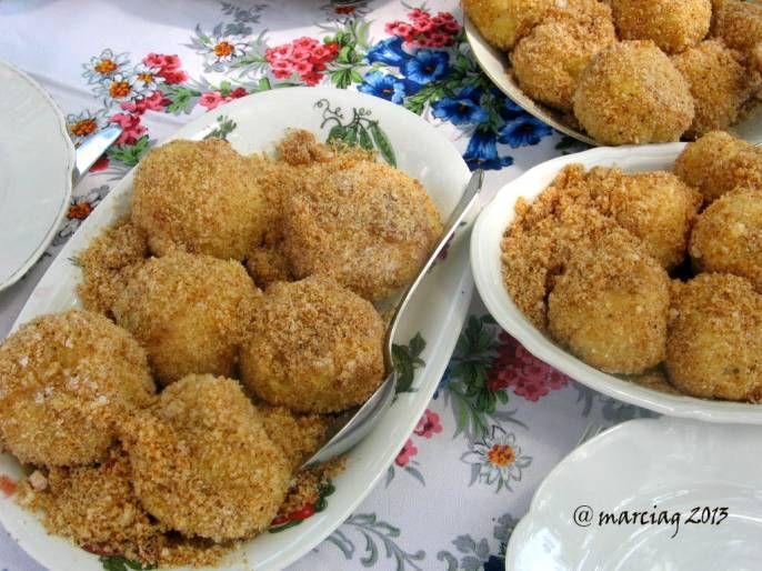 Szilvasgomboc - Hungarian plum dumplings