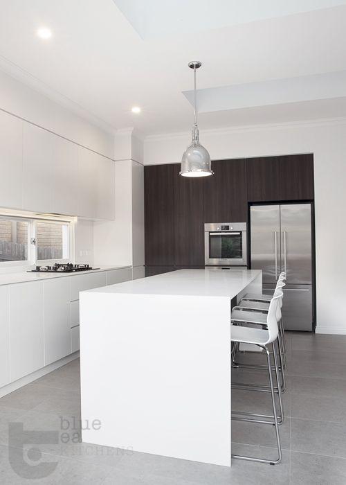 Modern White Kitchen With Concrete Tiles43 Best Australian Kitchen Designs  Images On Pinterest. Modern Australian