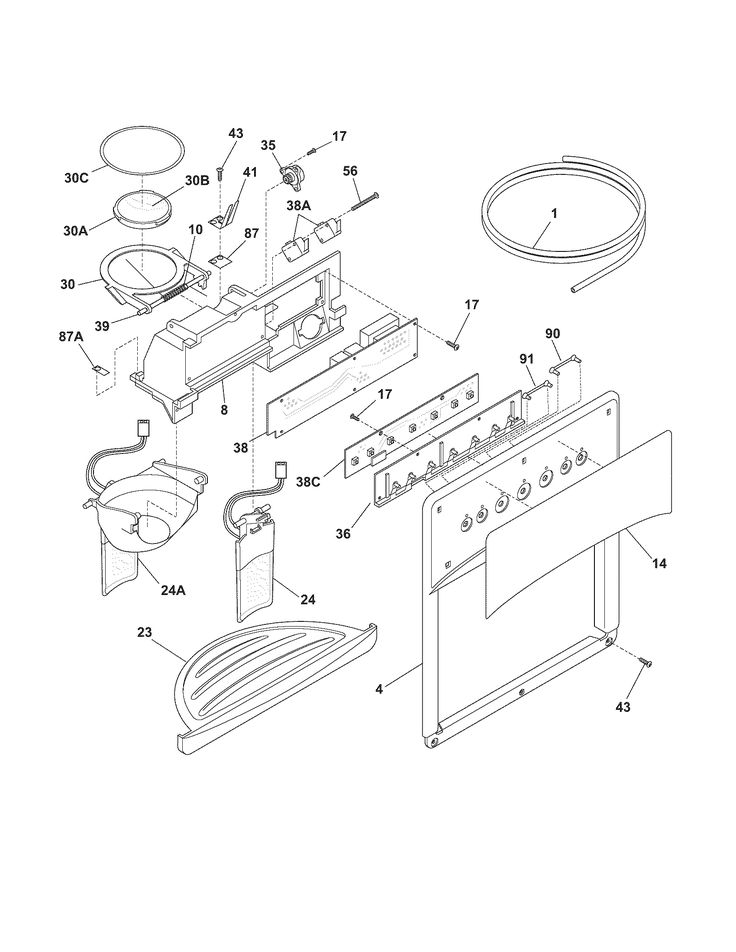 Ge Ice Maker Dispenser Wiring Schematic