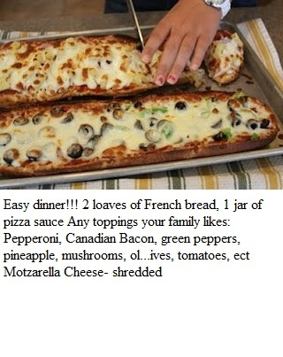 Italian Bread Pizza