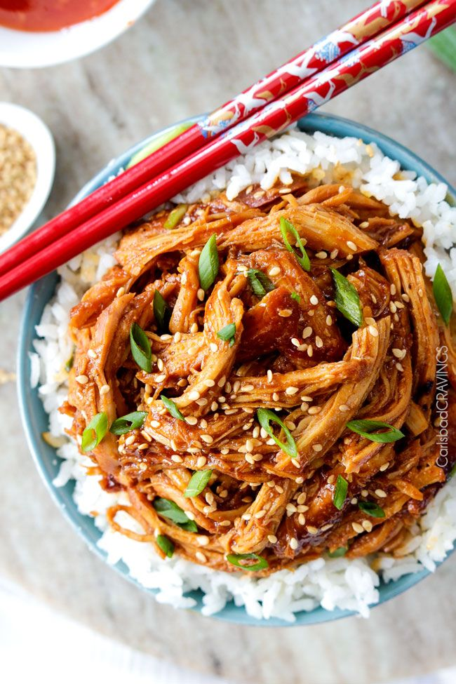 Asian Sweet Chili Sesame Chicken